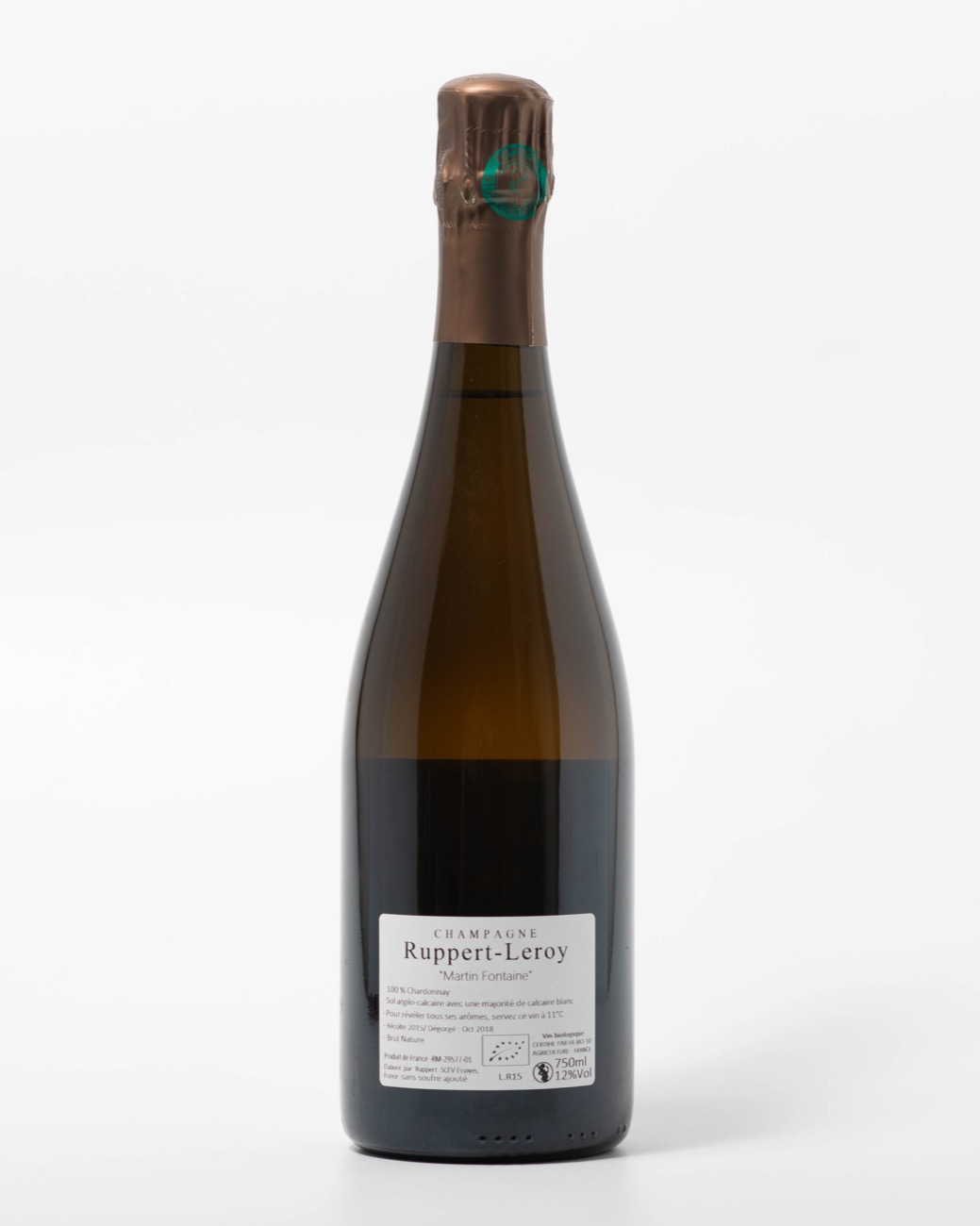 Ruppert Leroy AOP Champagne Martin Fontaine 2